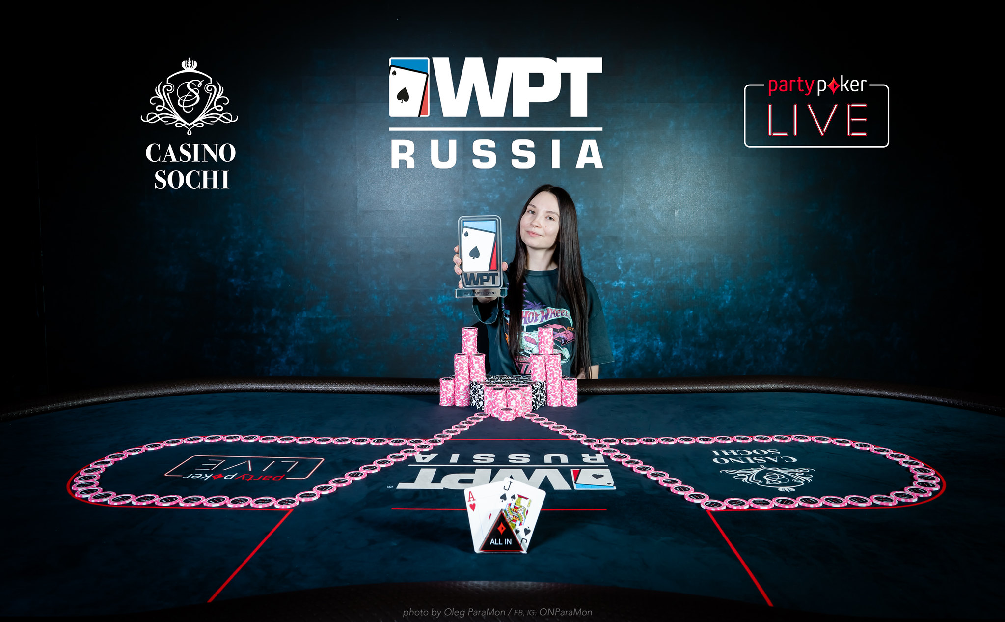 "Ladies Event winner Alena Belousova"" width="