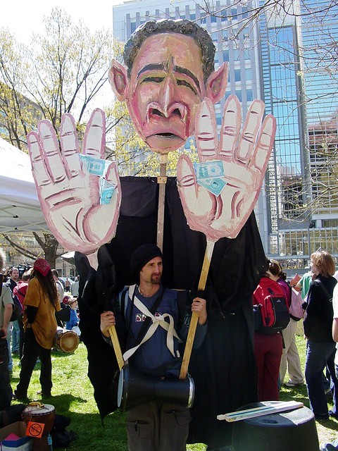 A16 World Bank protest [05]