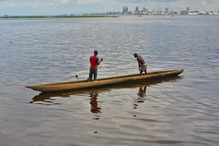 Atmosphere on the Congo River…
