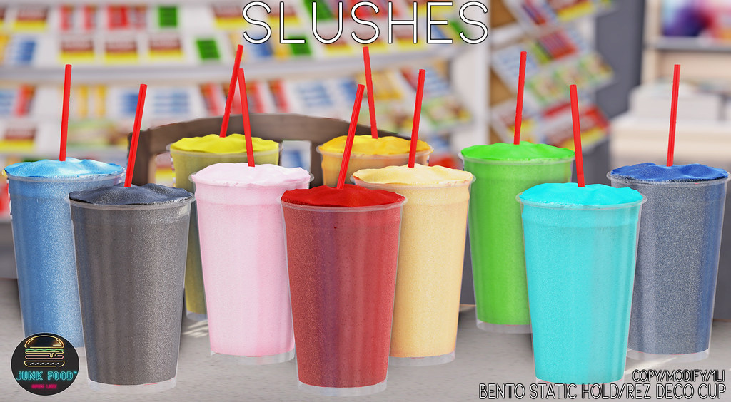 Junk Food - Slushes Ad