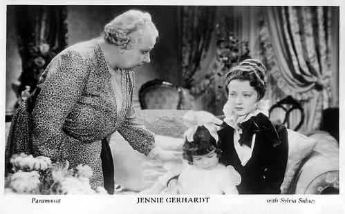 Sylvia Sidney in Jennie Gerhardt (1933)
