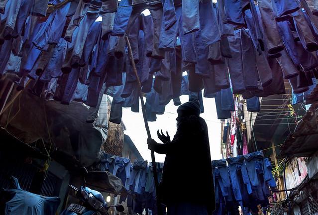 Laundry Alley, Kolkata .