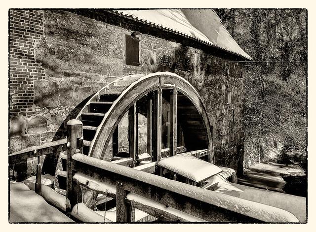 Hünxe - Schloss Gartrop Wassermühle 08