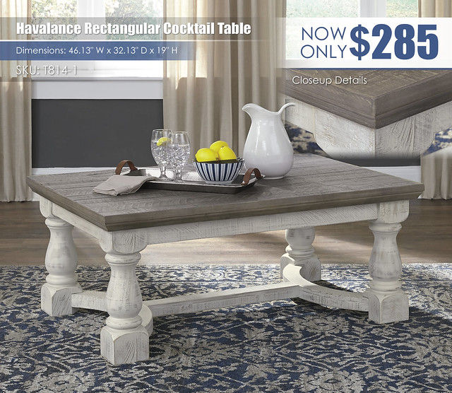 Havalance Rectangular Cocktail Table_T814-1