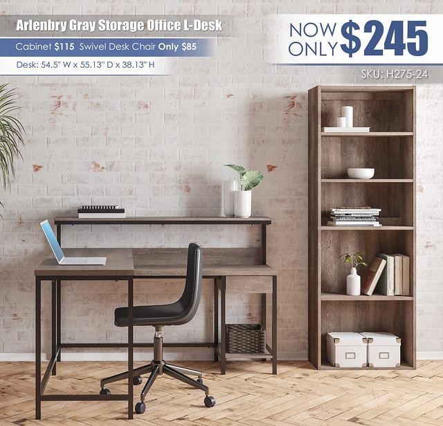 Arlenbry Office L-Desk_H275-24-17-H200-09