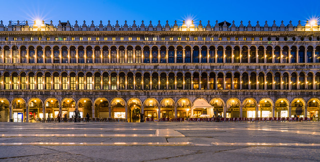 Piazza San Marco at blue hour