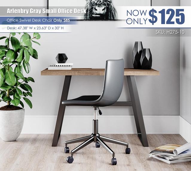 Arlenbry Gray Small Office Desk_H275-10-H200-09