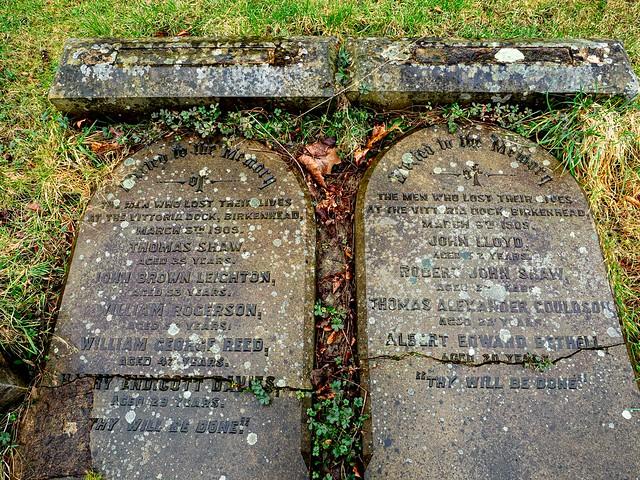 Vittoria Dock Disaster - C of E denomination graves