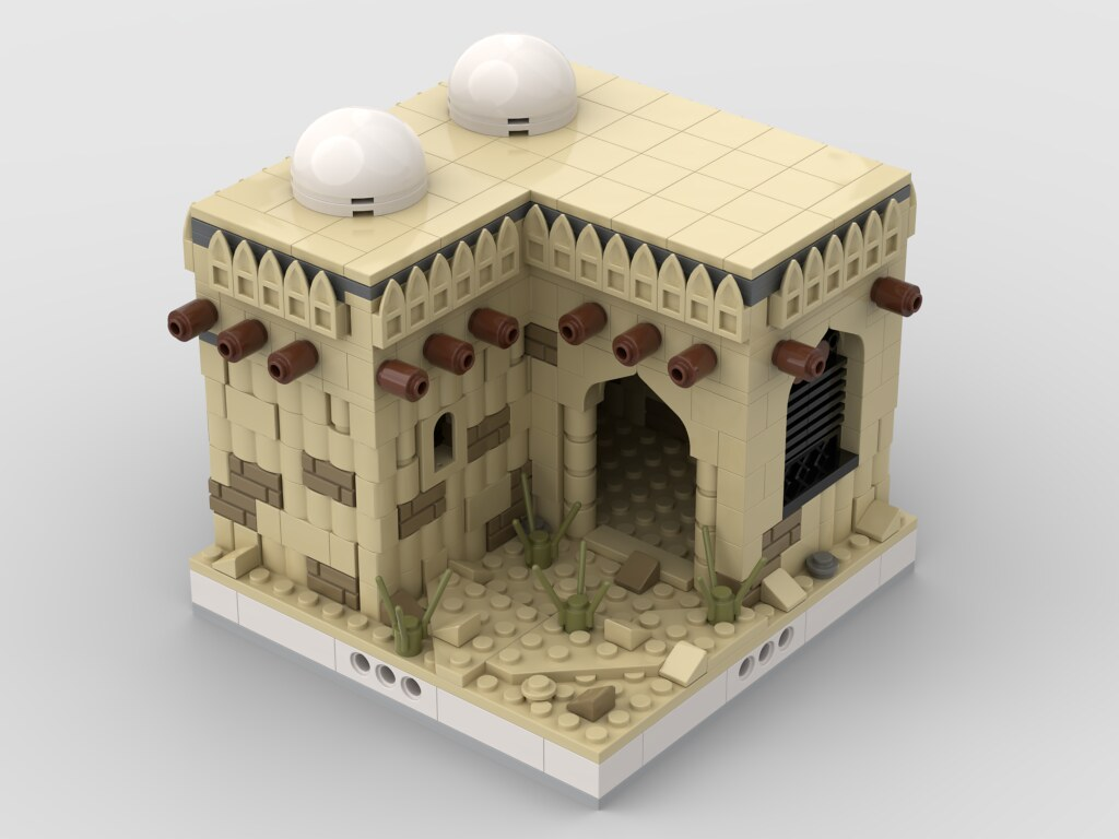 Lego Desert House #2 for a Modular Desert village
