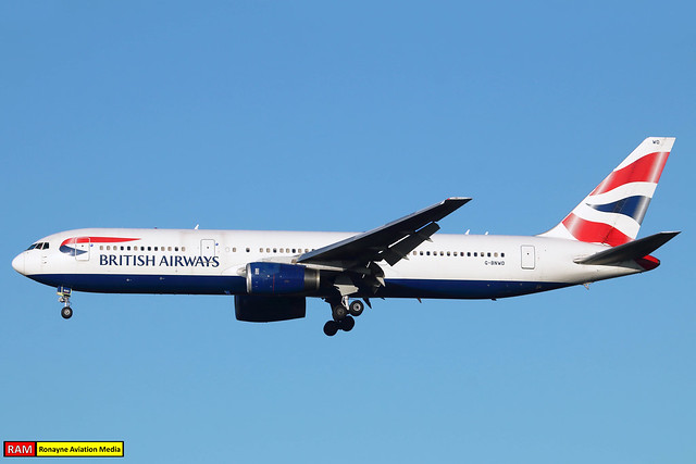 G-BNWD | Boeing 767-336ER | British Airways