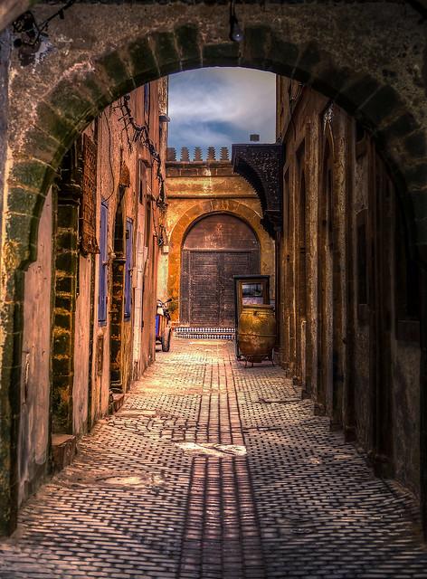 Essaouira Cobblestone Labyrinth