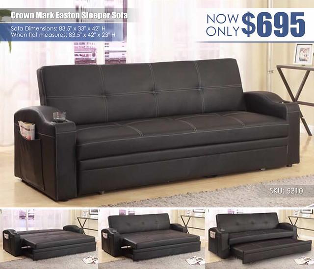 Crown Mark Easton Sleeper Sofa_5310