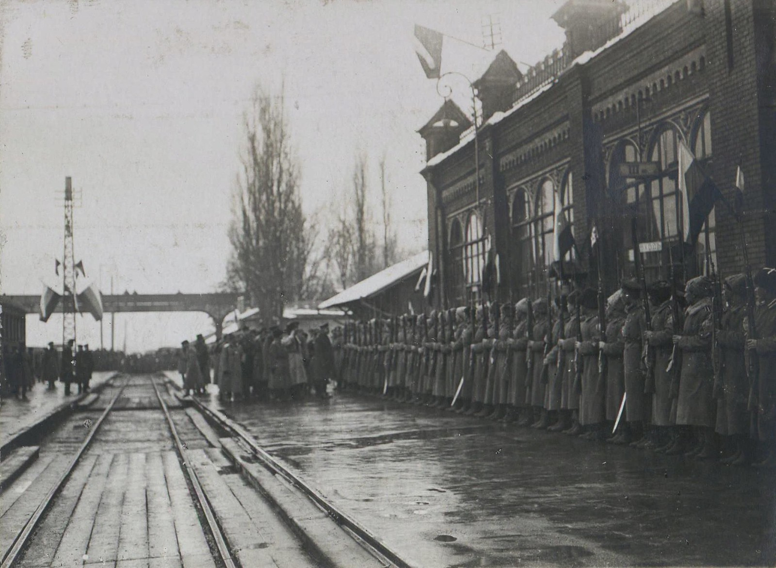 08. 1918. Прибытие генерала Фредерика Пуля в  Новороссийск. 3 декабря