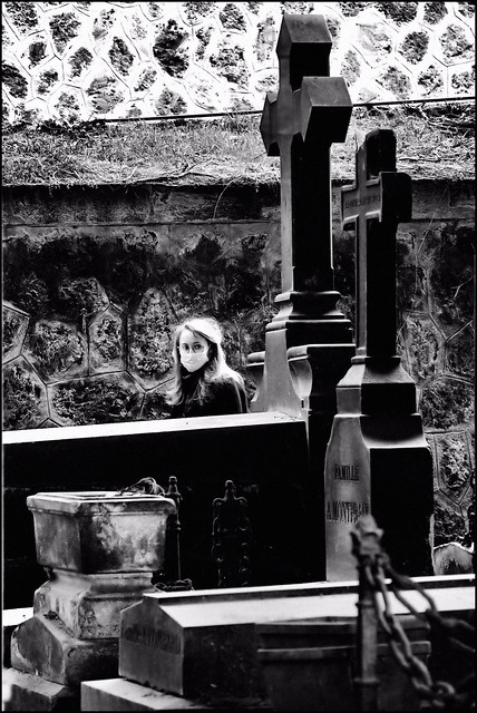At The Cemetery.