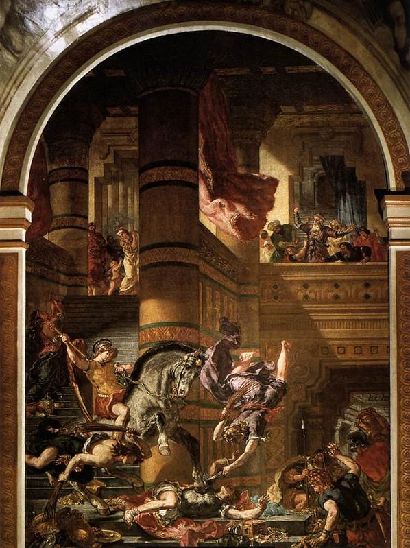 Eugène_Delacroix_-_Heliodoros_Driven_from_the_Temple_-_WGA06222