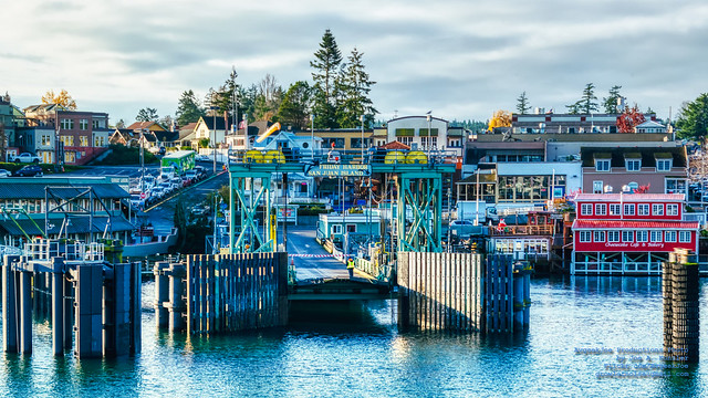 Arriving in Friday Harbor in HDR