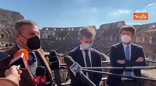 """ROMA ARCHEOLOGICA & RESTAURO ARCHITETTURA 2021. Pompei, arriva Zuchtriegel,""""in campo anche i droni."""" Dietro ai successi di un'archeologia fintamente «pubblica». ANSA & Il Manifesto / Patrimoniosos.it (21/02/2021), et al."""