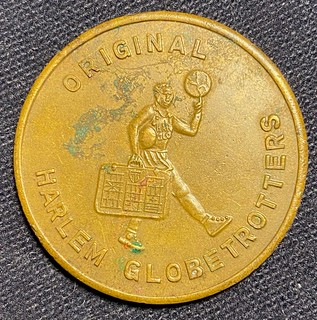 Original Harlem Globetrotters token | by Numismatic Bibliomania Society