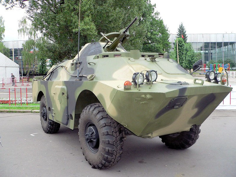 BRDM-2 with AGS-17