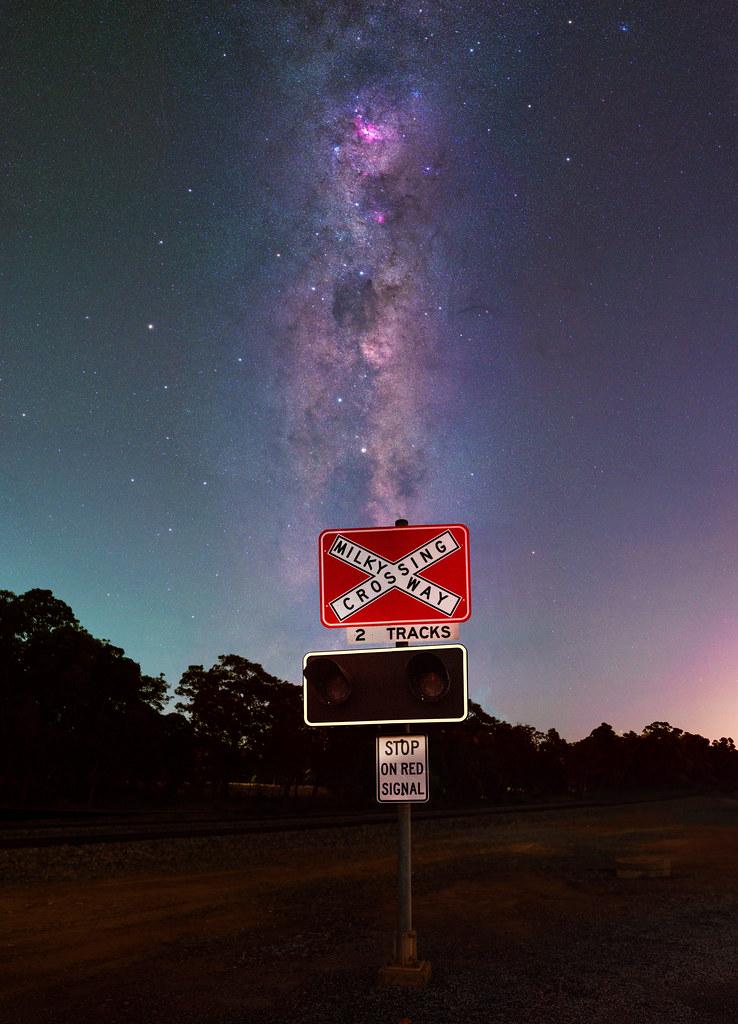 Summer Milky Way at Keysbrook, Western Australia