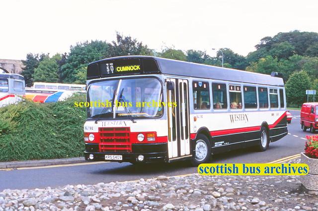 WESTERN SCOTTISH SL792 KRS540V (GSO6V)