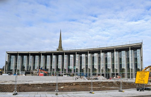 New UCLan building in Preston | by Tony Worrall