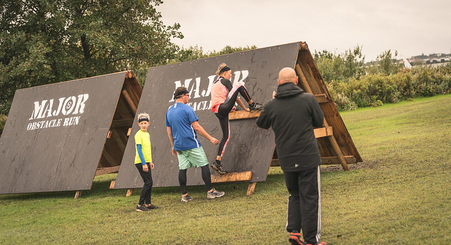 Obstacle runners.