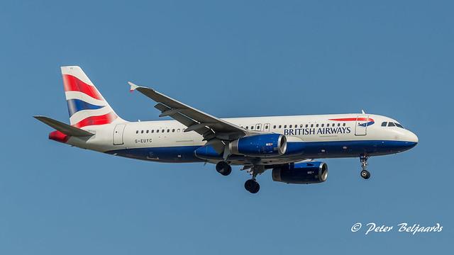G-EUYC   Airbus A320-200 - British Airways