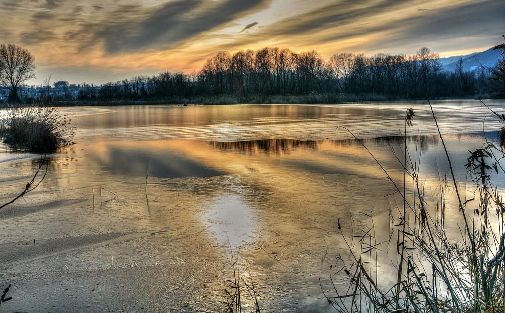 Sunset on the Ice (On Explore)