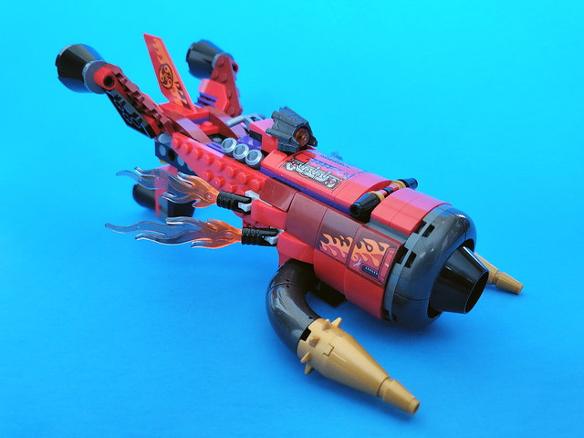 LEGO Monkie Kid Red Son's Inferno Jet (80019)