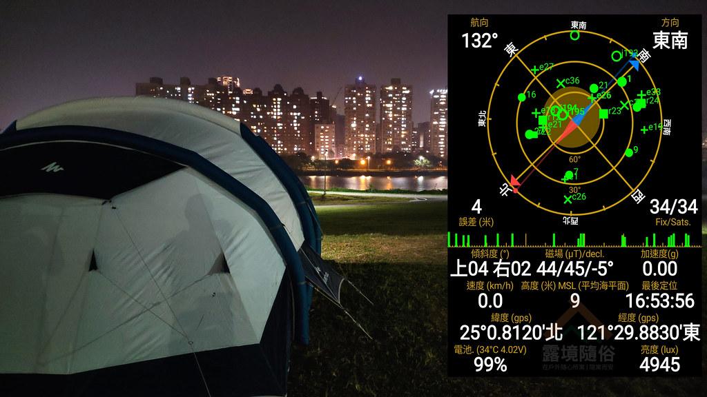華中橋露營區方位圖