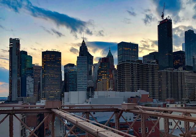 Downtown Manhattan (Sunset str.) - New York City