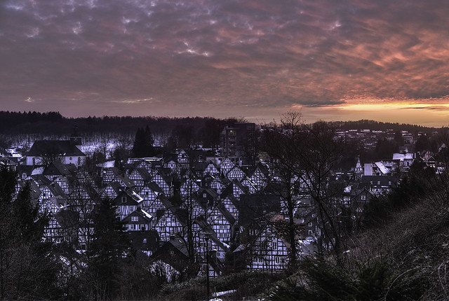 Freudenberg Germany Sunset