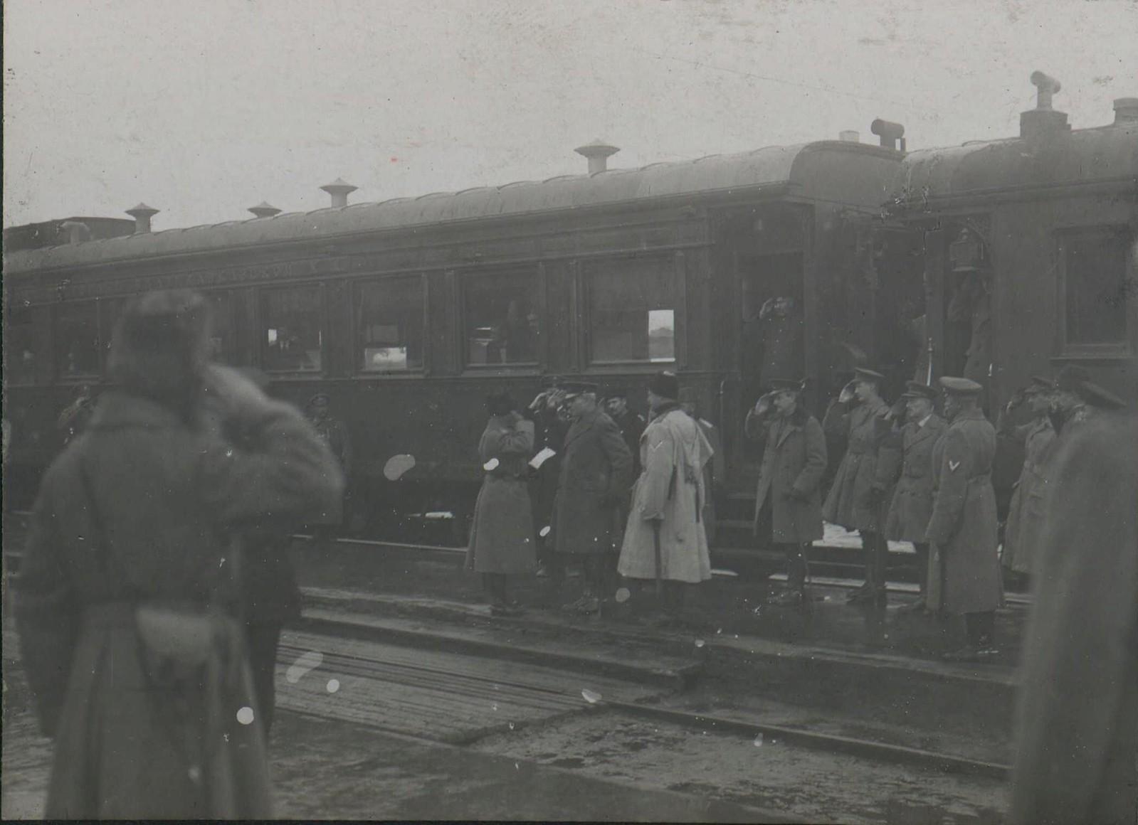 07. 1918. Прибытие генерала Фредерика Пуля в  Новороссийск. 3 декабря