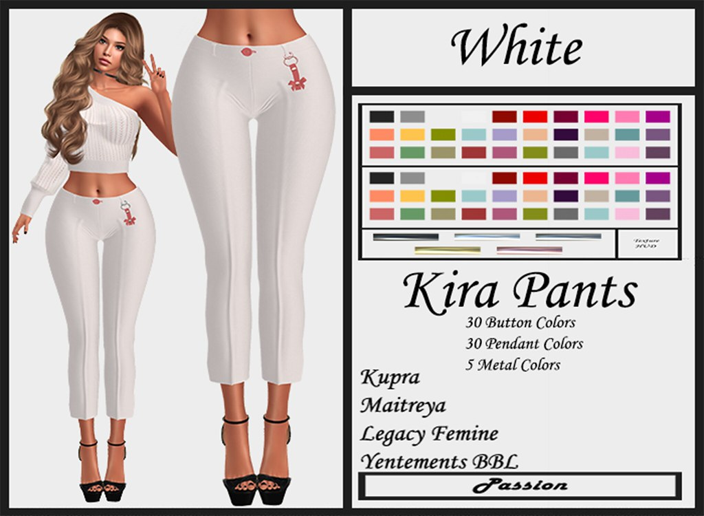 Passion-Kira-Pants-White