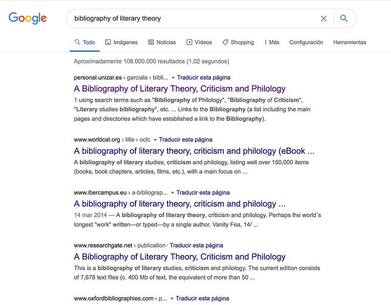 Veinte años Nº 1 en Google