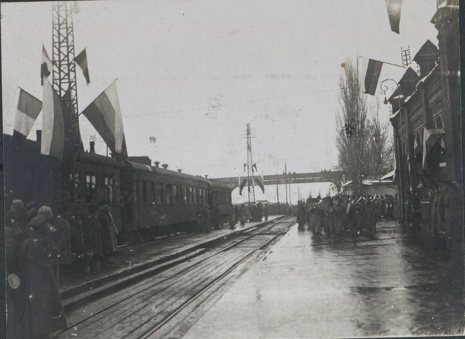 09. 1918. Прибытие генерала Фредерика Пуля в  Новороссийск. 3 декабря