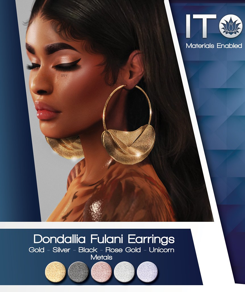 Ito Fulani Earrings