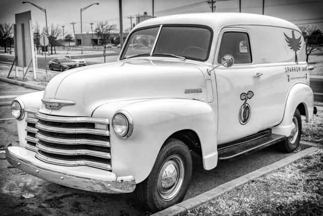 Classic Chevy Van #2