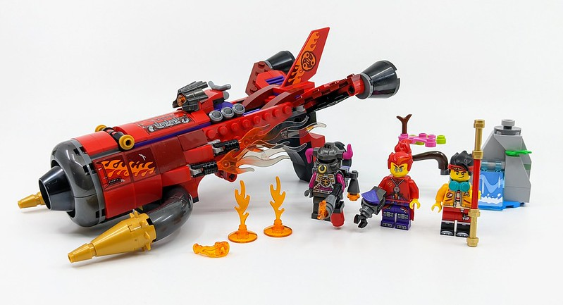 80019: Red Son's Inferno Jet