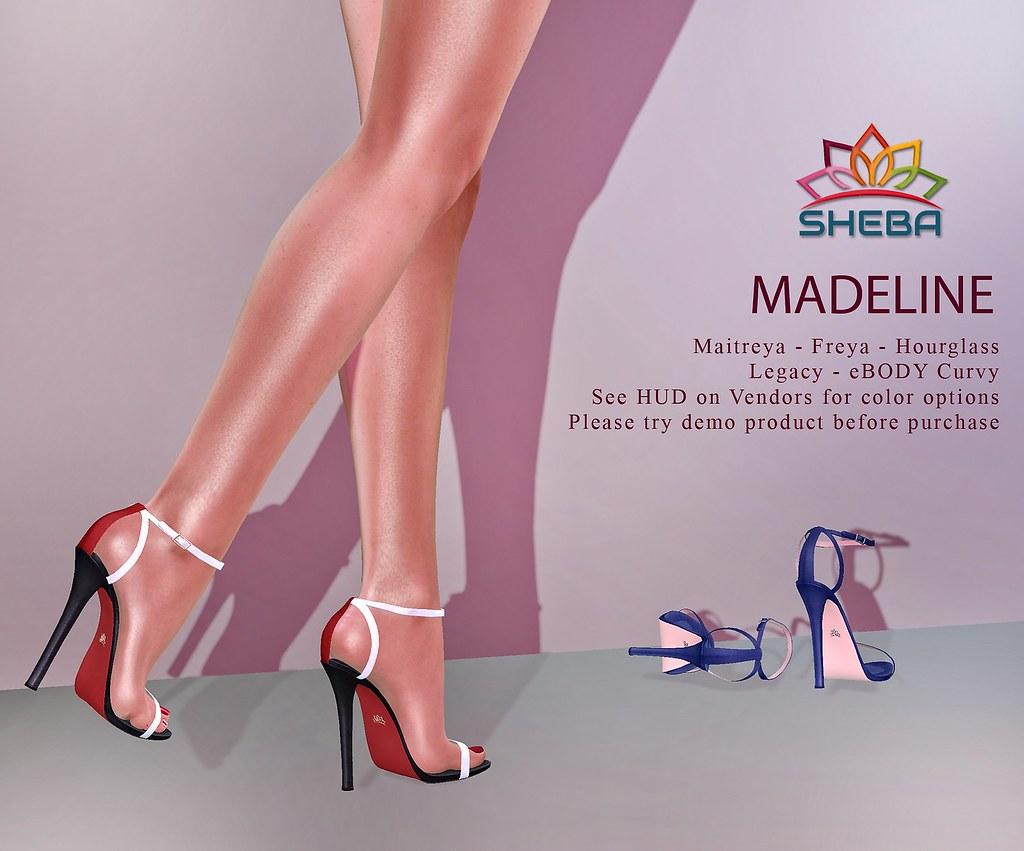 [Sheba] Madeline Heels