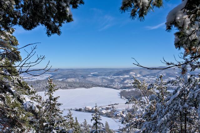 Window to the Winter Landscape