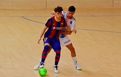 Barça B-Full Energía Zaragoza