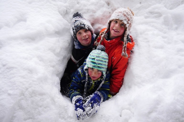 Děti na skialpech #1. Jak na to?