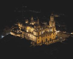 Nocturna catedral de la Asunción (Jaén)