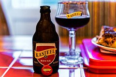 Kasteel Rouge (8%) a blend of Kasteel Donker(11%) & Sour Cherries - An Acquired Taste (not for me) (Panasonic DC-S1 & Sigma ART 24-70mm f2.8 Zoom) (1 of 1)