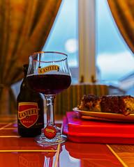 Glass of Kasteel Rouge (Strong Fruit Beer - 8%) a Blend of Kasteel Donker(11%) & Sour Cherries (Panasonic DC-S1 & Sigma ART 24-70mm f2.8 Zoom) (1 of 1)