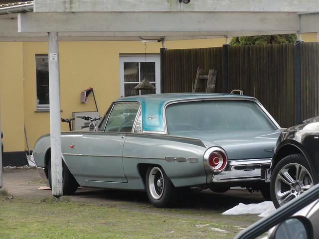 Ford Thunderbird still on the roads of Denmark
