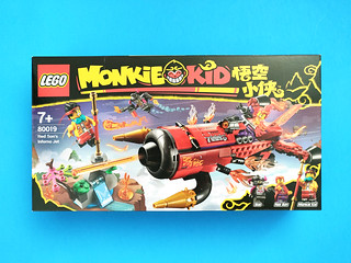 LEGO Monkie Kid Red Son's Inferno Jet (80019) | by tormentalous