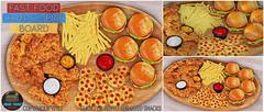 Junk Food - Fast Food Charcuterie Board Ad